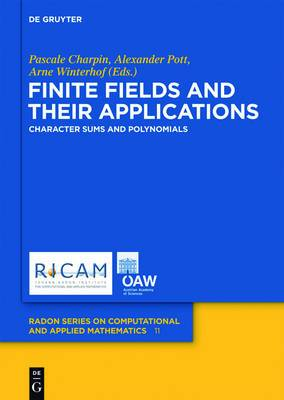 Finite Fields and Their Applications: Character Sums and Polynomials
