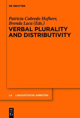 Verbal Plurality and Distributivity
