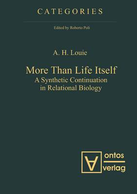 More Than Life Itself: A Synthetic Continuation in Relational Biology