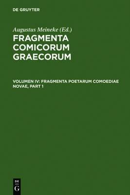 Fragmenta Poetarum Comoediae Novae