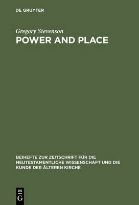 Power and Place: Temple and Identity in the Book of Revelation
