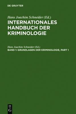 Grundlagen Der Kriminologie