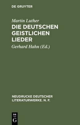 Die Deutschen Geistlichen Lieder