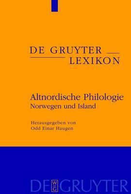Altnordische Philologie: Norwegen Und Island