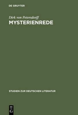Mysterienrede: Zum Selbstverstandis Romantischer Intellektueller