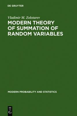 Modern Theory of Summation of Random Variables