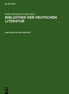 Bibliographie Und Register