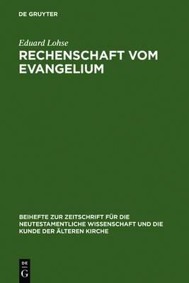 Rechenschaft Vom Evangelium: Exegetische Studien Zum R merbrief