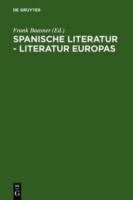 Spanische Literatur - Literatur Europas: Wido Hempel Zum 65. Geburtstag