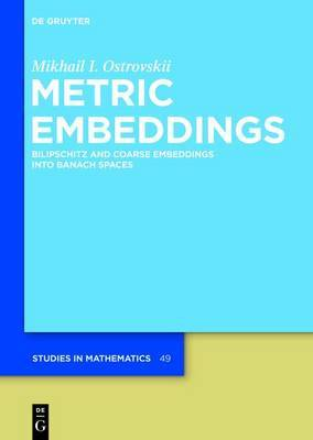 Metric Embeddings: Bilipschitz and Coarse Embeddings into Banach Spaces