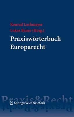 Praxisw Rterbuch Europarecht