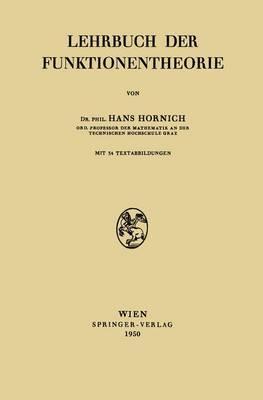 Lehrbuch Der Funktionentheorie