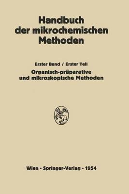 Praparative Mikromethoden in Der Organischen Chemie: Mikroskopische Methoden