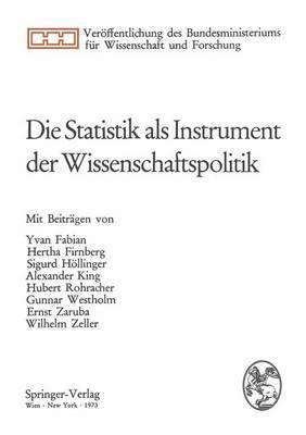 Die Statistik ALS Instrument Der Wissenschaftspolitik