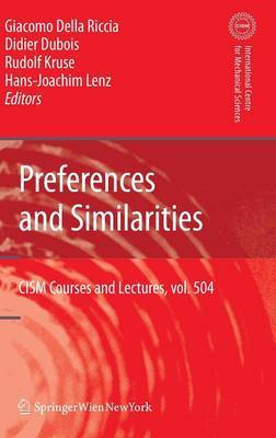 Preferences and Similarities