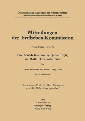 Das Starkbeben Am 29. Januar 1967 in Molln, Oberasterreich