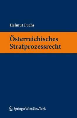 Sterreichisches Strafprozessrecht