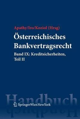 Osterreichisches Bankvertragsrecht