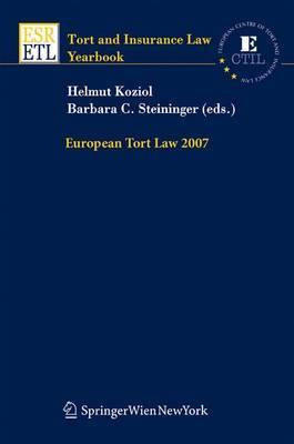European Tort Law: 2007