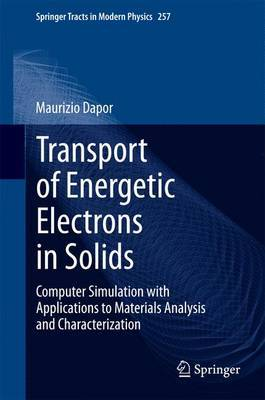 Transport of Energetic Electrons in Solids: Computer Simulation with Applications to Materials Analysis and Characterization