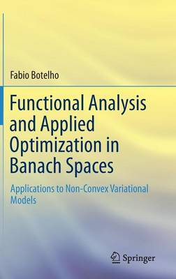 Functional Analysis and Applied Optimization in Banach Spaces: Applications to Non-Convex Variational Models