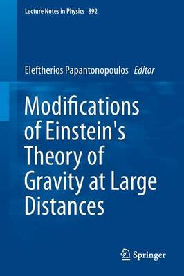 Modifications of Einstein's Theory of Gravity at Large Distances