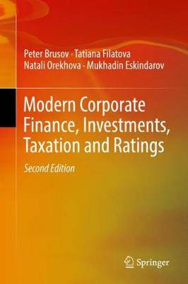 Modern Corporate Finance, Investments, Taxation and Ratings