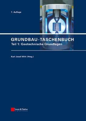 Grundbau-taschenbuch: Teil 1-3