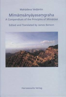 Mimamsanyayasamgraha: A Compendium of the Principles of Mimamsa