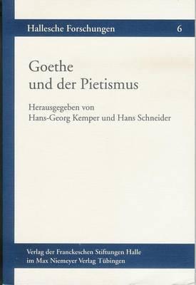 Goethe Und Der Pietismus