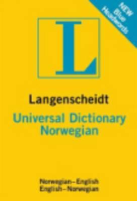 Langenscheidt bilingual dictionaries: Langenscheidt Universal Dictionary Norwegi