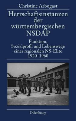 Herrschaftsinstanzen Der Wurttembergischen Nsdap