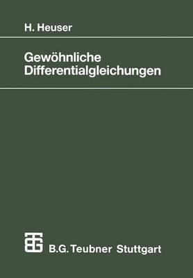 Gewohnliche Differentialgleichungen