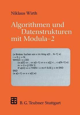 Algorithmen Und Datenstrukturen Mit Modula 2