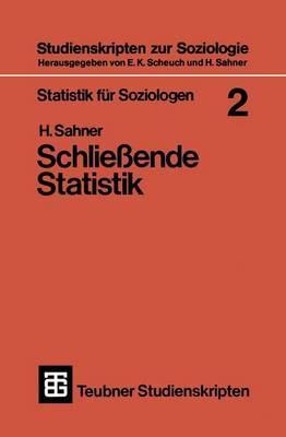 Statistik Fur Soziologen 2: Schliessende Statistik