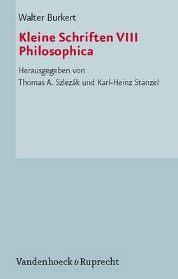 Kleine Schriften: Philosophica: No. 8