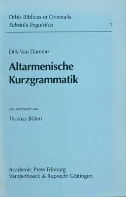 Altarmenische Kurzgrammatik