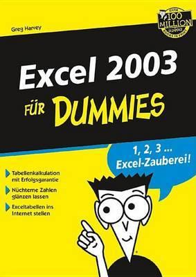 Excel 2003 Fur Dummies
