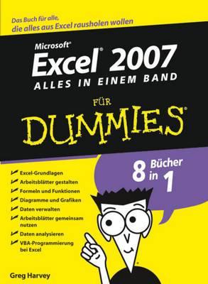 Excel 2007 Fur Dummies, Alles in Einem Band