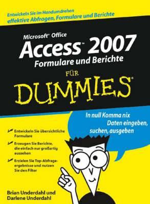 Access 2007 Formulare Und Berichte Fur Dummies