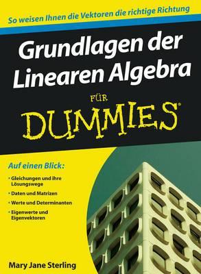 Grundlagen der Linearen Algebra Fur Dummies