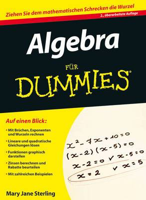 Algebra Fur Dummies