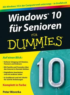 Windows 9 fur Senioren Fur Dummies