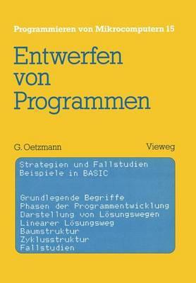 Entwerfen Von Programmen: Strategien Und Fallstudien Beispiele in Basic