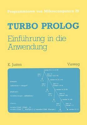 Turbo PROLOG - Einfuhrung in Die Anwendung