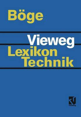 Vieweg Lexikon Technik