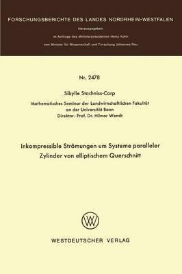Inkompressible Stromungen Um Systeme Paralleler Zylinder Von Elliptischem Querschnitt
