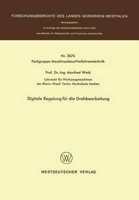 Digitale Regelung F r Die Drehbearbeitung