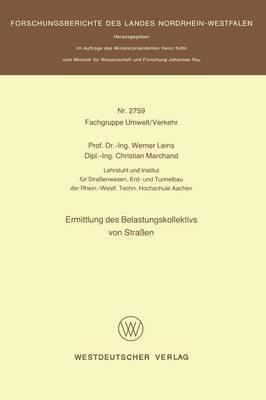 Ermittlung Des Belastungskollektivs Von Strassen