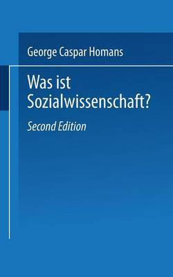 Was ist Sozialwissenschaft?
